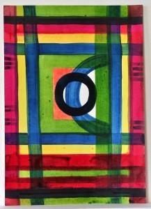 farbige Tusche auf Papier, 30 x 20 cm, 2010